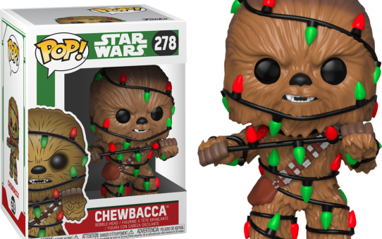Star Wars Holiday Chewie Funko Pop Vinyl