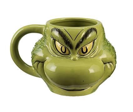 Grinch Molded Mug