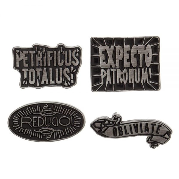 Harry Potter Spells Lapel Pin Set