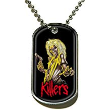 Iron Maiden Dog Tag Necklace