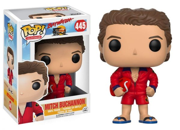 Baywatch Mitch Funko Pop Vinyl