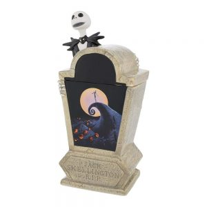 Nightmare Before Christmas Jack Tombstone Cookie Jar