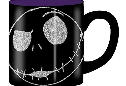 Nightmare Before Christmas Jack Glitter Mug