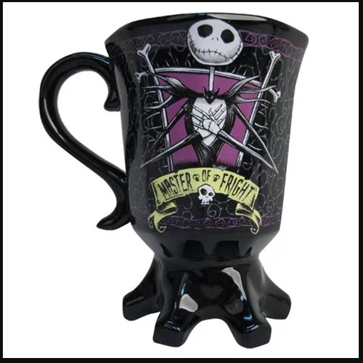 Nightmare Before Christmas Jack Goblet