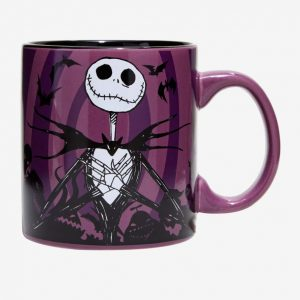 Nightmare Before Christmas Jack Hypno Swirl Mug