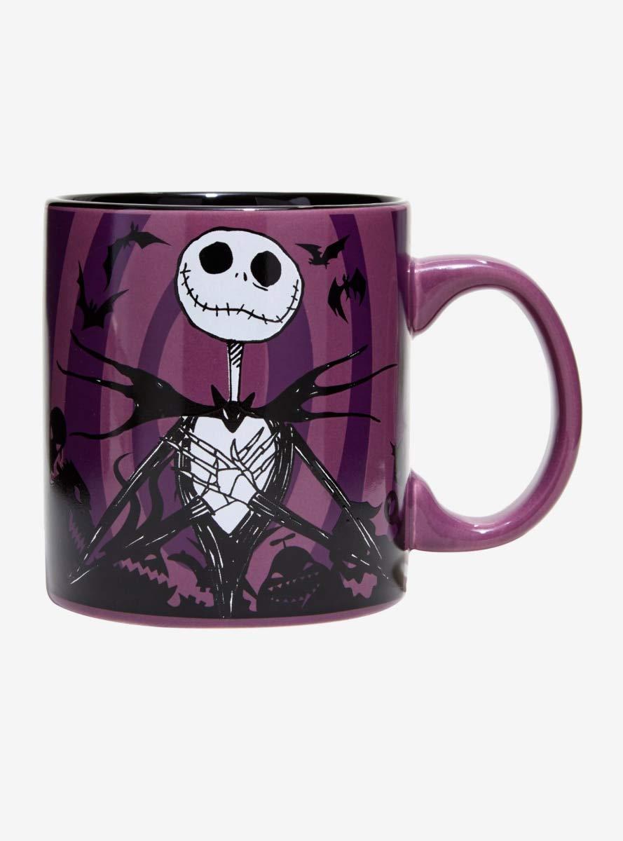 Nightmare Before Christmas Coffee Mug.Nightmare Before Christmas Jack Hypno Swirl Mug
