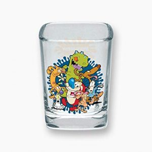 Nickelodeon Square Shot Glass