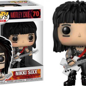 Mötley Crüe Nikki Sixx Funko Pop Vinyl