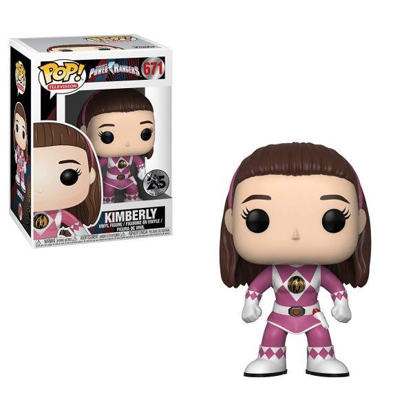 Power Rangers Pink Ranger Funko Pop Vinyl