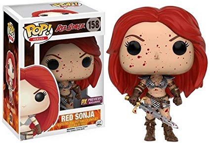 Red Sonja Funko Pop Vinyl