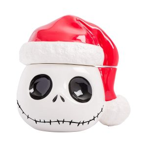 Nightmare Before Christmas Santa Jack Cookie Jar