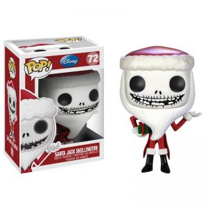 Nightmare Before Christmas Santa Jack Funko Pop Vinyl