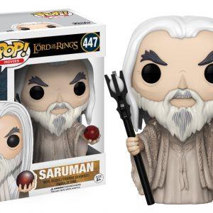 Lord of the Rings Saruman Funko Pop Vinyl