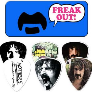 Frank Zappa Freak Out Blue Guitar Pick Tin