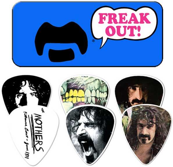 Frank Zappa Freak Out Blue Guitar Pick Tin