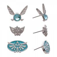 Nintendo Zelda Earrings 3 Pack Set