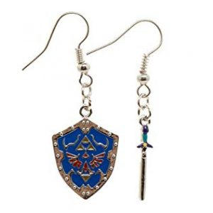 Nintendo Zelda Shield/Sword Earrings