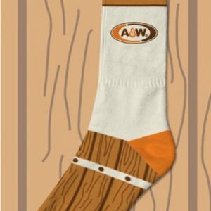 A&W Root Beer Socks