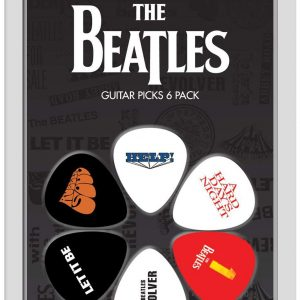 Beatles 6pk Guitar Picks