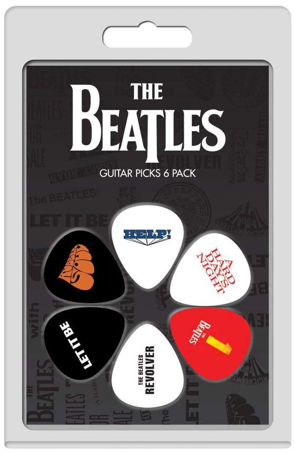 Beatles 6pk Guitar Picks
