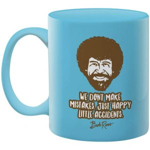 Bob Ross Happy Little Accidents Mug