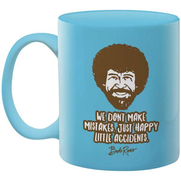 Bob Ross Happy Little Accidents Mug