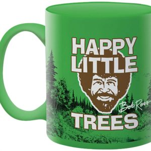 Bob Ross Happy Little Trees Mug