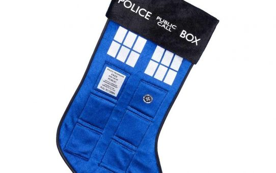 Doctor Who Tardis Christmas Stocking