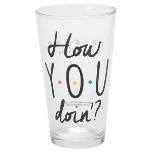 Friends 'How You Doin?' Pint Glass