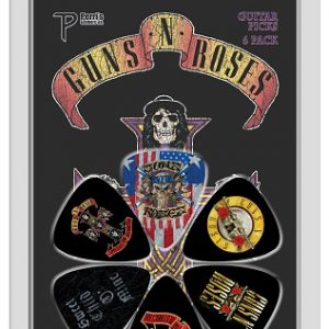 Guns N Roses Appetite 6pk Guitar Picks