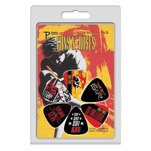 Guns N Roses Illusion 6pk Guitar Picks