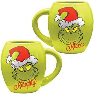 The Grinch Naughty or Nice Mug