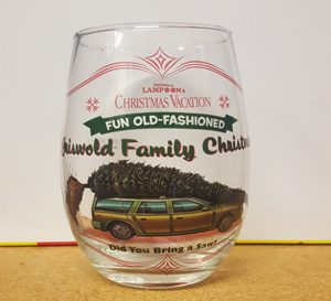Christmas Vacation Griswold Car Stemless Wine Glass