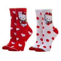 Hello Kitty 2pk Socks