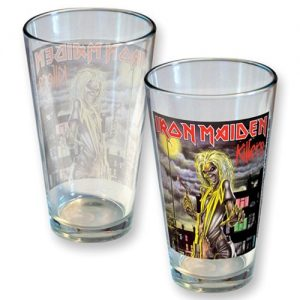 Iron Maiden Killers Pint Glass