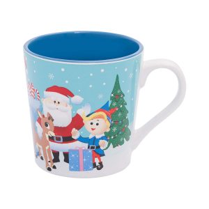 Rudolph and Gang 12oz. Coffee Mug
