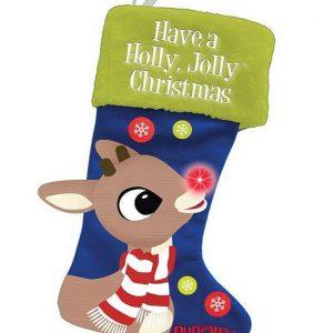 Rudolph LED Christmas Stocking