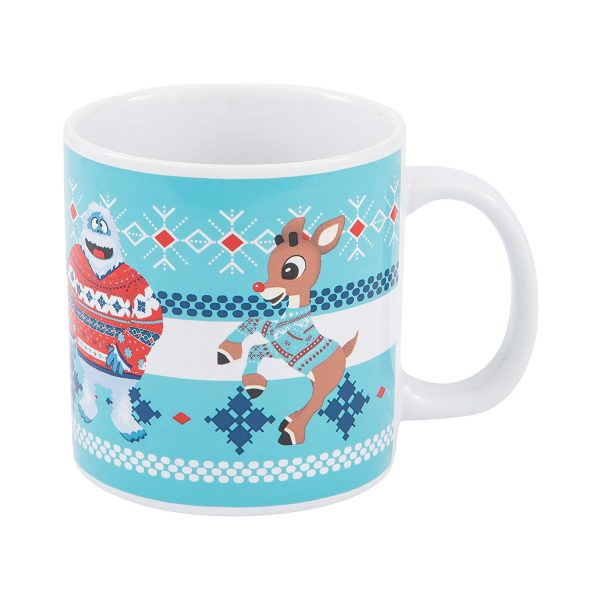 Rudolph and Bumble Ugly Sweater Mug