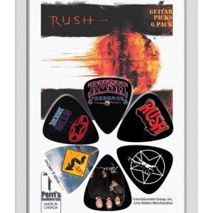 Rush 6pk Guitar Picks