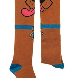 Scooby Doo with Ears Knee Socks