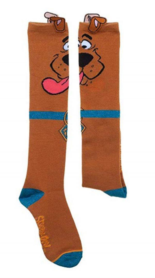 Scooby Doo with Ears Knee Socks