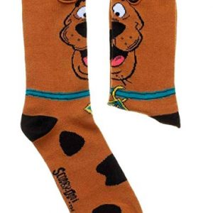Scooby Doo with Ears Crew Socks