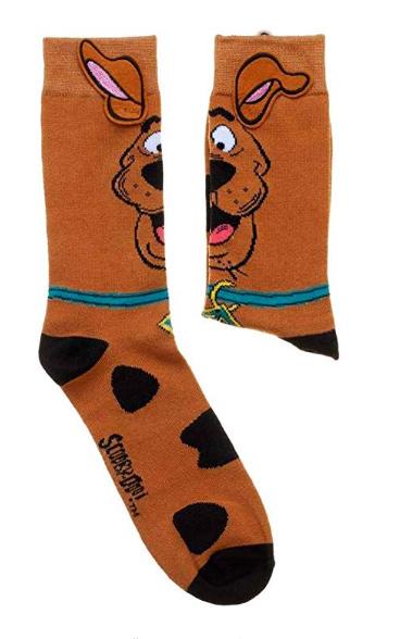 Scooby Doo with Ears Crew Socks