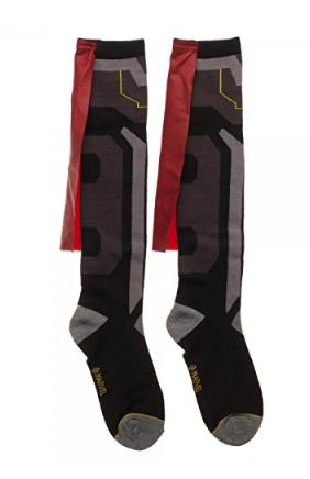 Thor Caped Knee High Socks