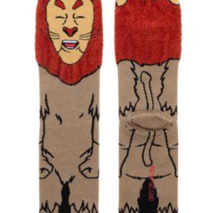 Wizard of Oz Cowardly Lion Socks