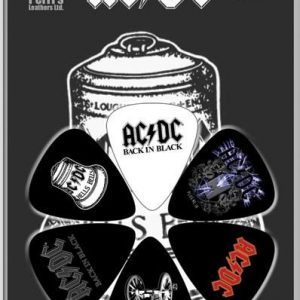 ACDC 6pk Guitar Picks