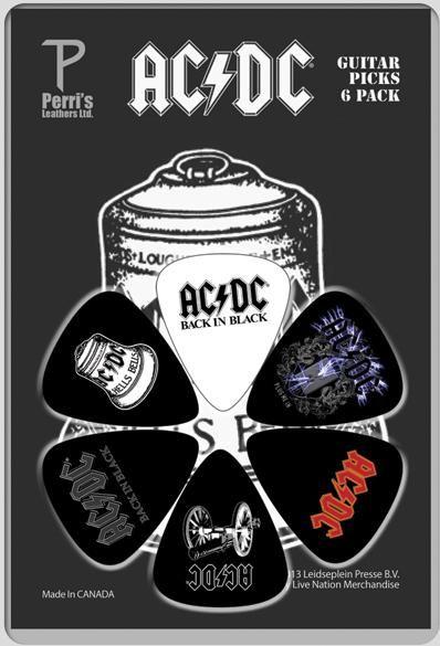 ACDC 6pk Guitar Picks