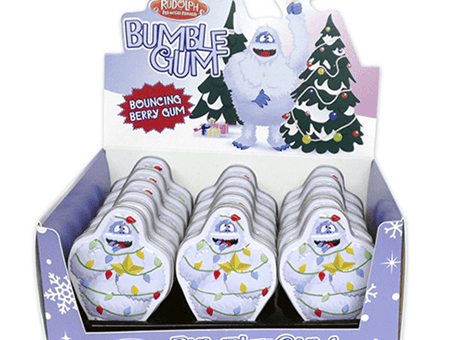Bouncing Berry Bumble Gum Candy Tin