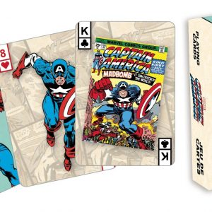 Captain America Playing Cards