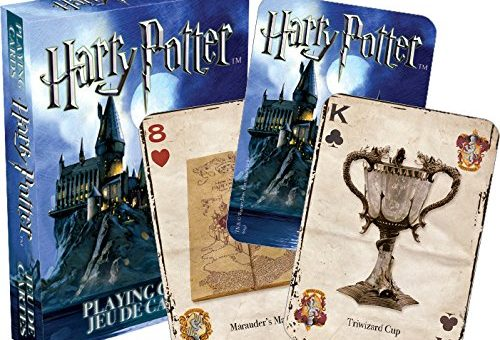 Harry Potter Artifacts Play Cards